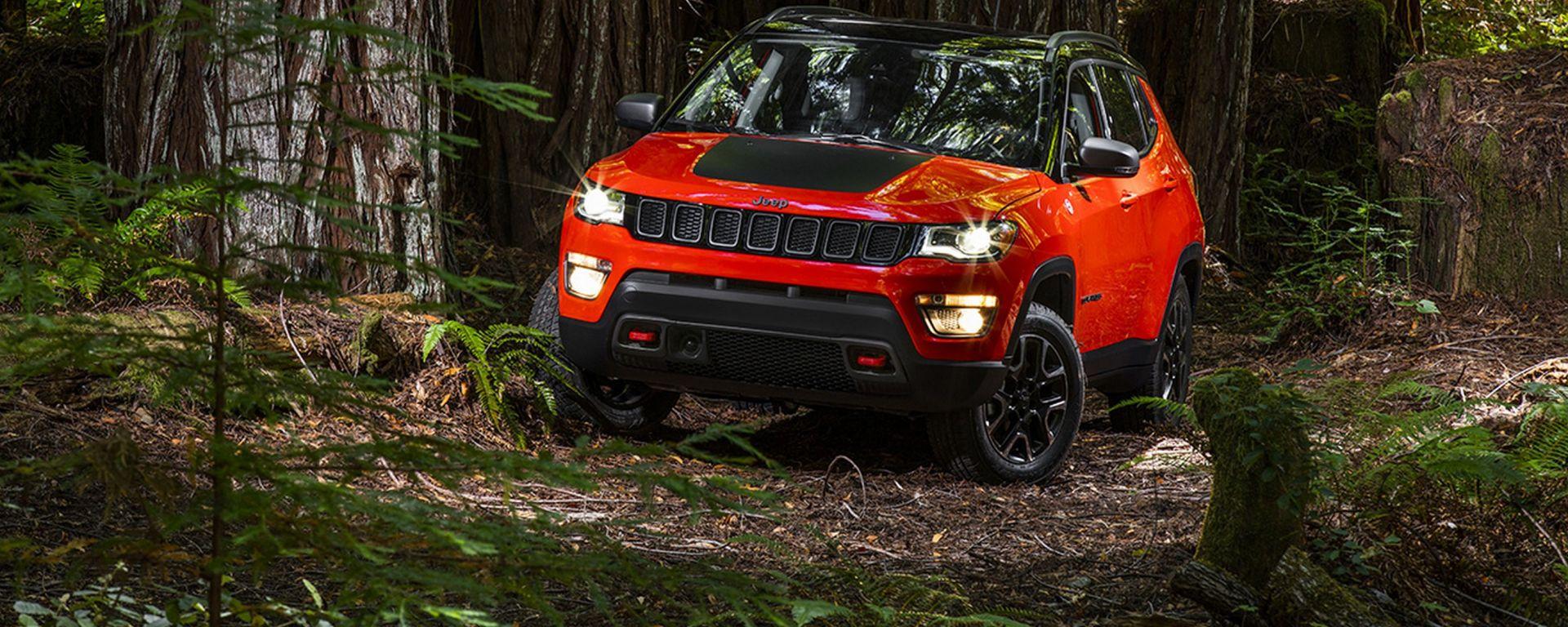 Jeep Compass: non dovrebbe mancare la versione Trailhawk, quella più adatta all'offroad