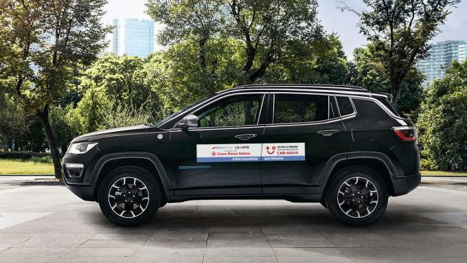 Jeep Compass per CRI