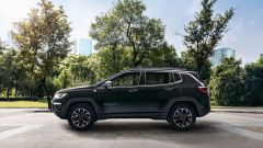 Jeep Compass plug-in: visuale laterale