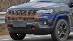 Jeep Compass Trailhawk 2022: dettaglio frontale