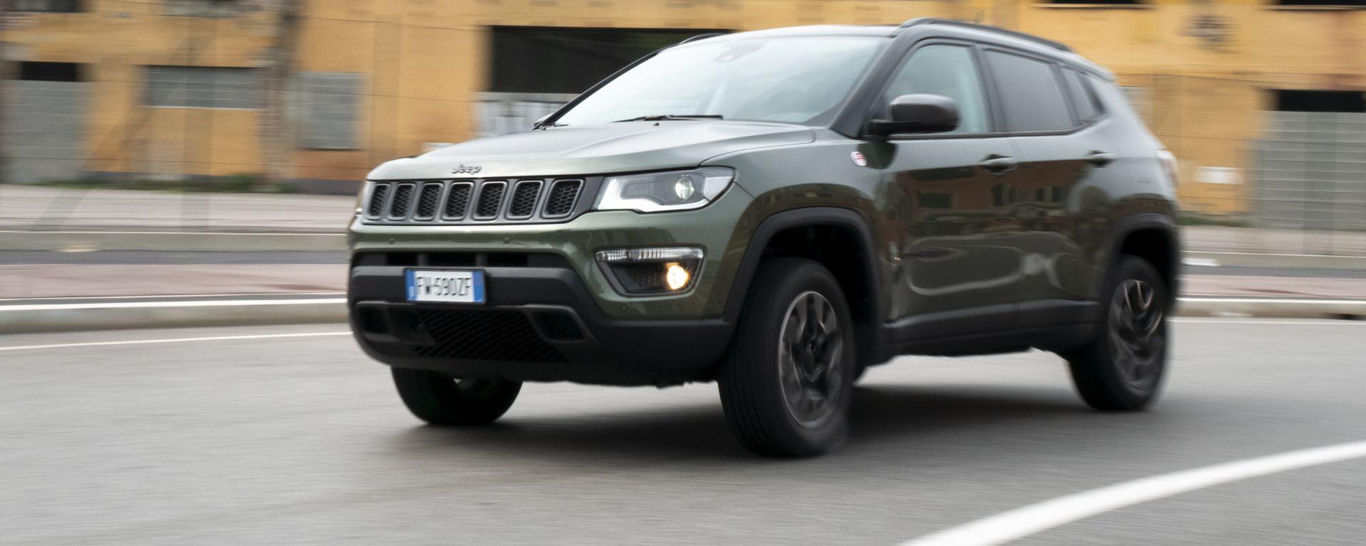 Una settimana con la Jeep Compass Trailhawk: la prova