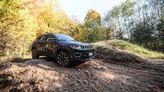 Jeep Compass, vista 3/4 anteriore