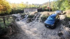 Jeep Compass, vista dall'alto
