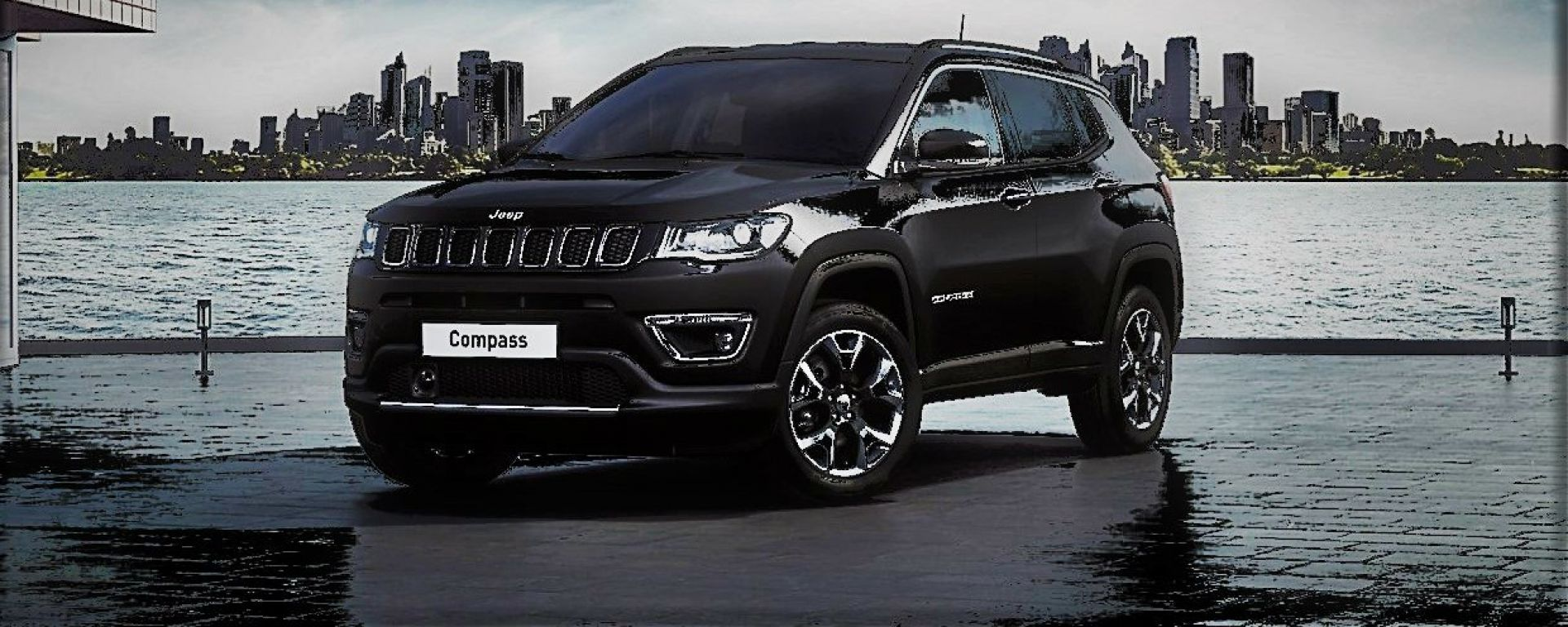 Jeep Compass Night Eagle A Ginevra L Edizione Speciale Total