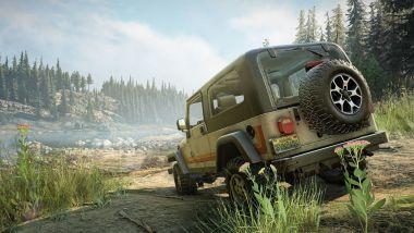 Jeep Dual Pack, la nuova espansione di Snowrunner: una schermata di gioco