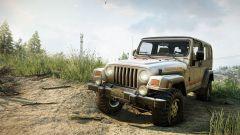 Snowrunner, arrivano Jeep Wrangler Rubicon e Renegade. Video