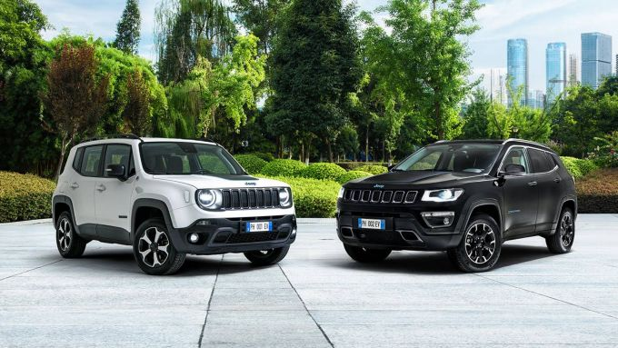 Jeep e l'elettrificazione: la Renegade 4xe e la Compass 4xe ibride plug-in