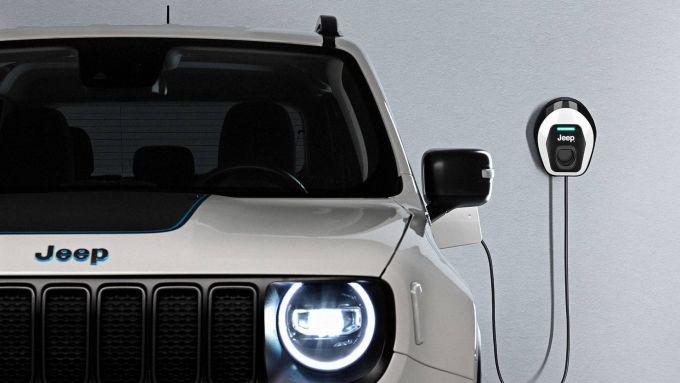 Jeep e l'elettrificazione: la Renegade 4xe sotto carica