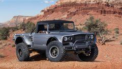 Jeep Five Quarter concept, vista 3/4 anteriore