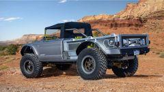 Jeep Five Quarter concept, vista 3/4 posteriore
