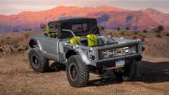 Jeep Five Quarter concept, vista del cassone