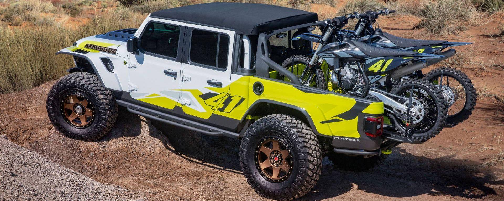 Jeep Flatbill concept, vista 3/4 posteriore
