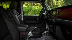Jeep Gladiator abitacolo