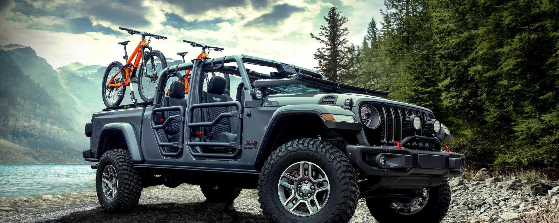 Nuova Jeep Gladiator: i nuovi accessori Mopar - MotorBox