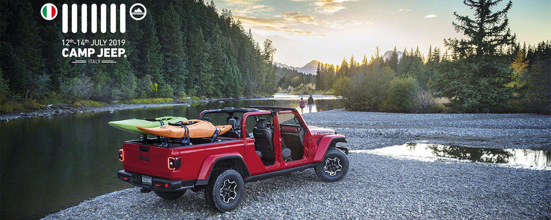 Jeep Gladiator debutta al Camp Jeep 2019