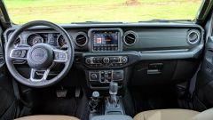 Jeep Gladiator: gli interni