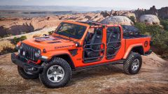 Jeep Gladiator Gravity concept, vista 3/4 anteriore
