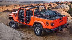 Jeep Gladiator Gravity concept, vista 3/4 posteriore