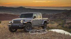 Jeep Gladiator pick-up double cab