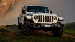 Jeep Gladiator San Martino di Castrozza anteriore