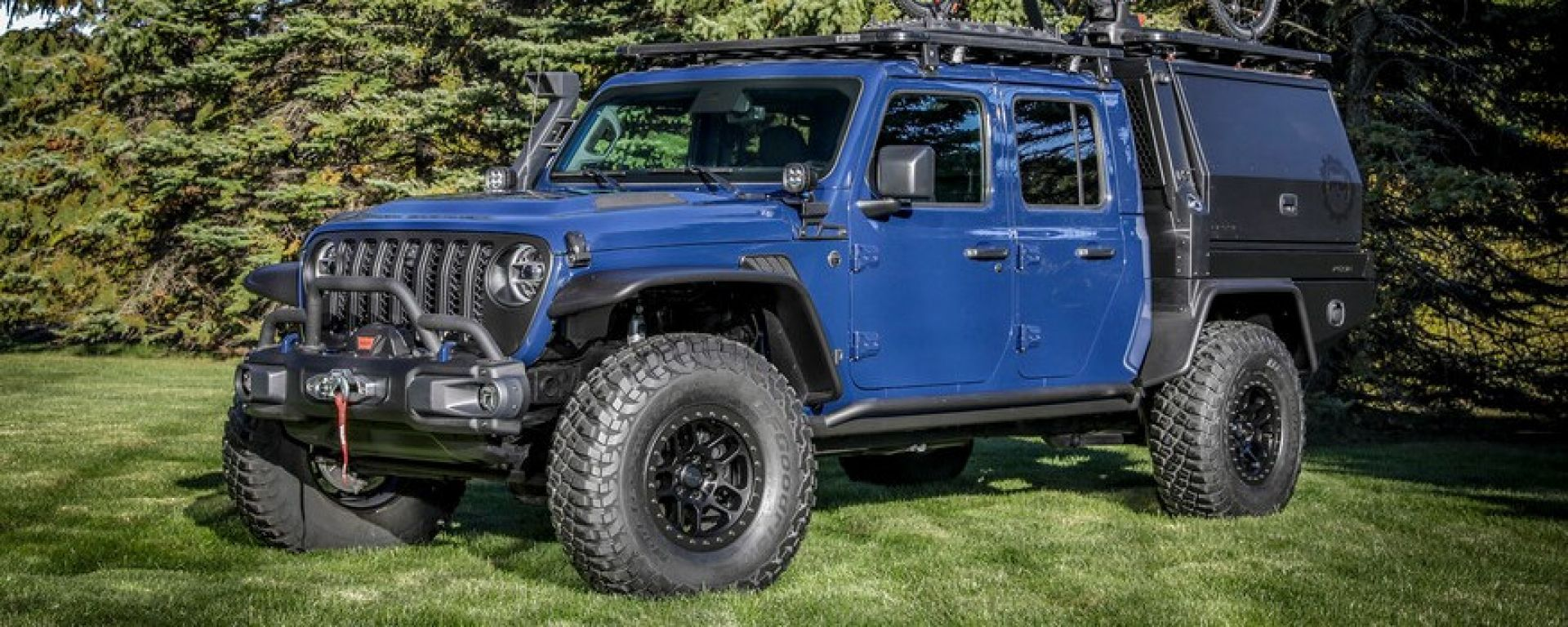 Jeep Gladiator Top Dog: frontale