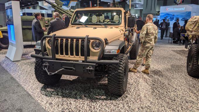 Jeep Gladiator XMT ad AUSA
