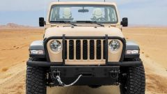 Jeep Gladiator XMT: il frontale