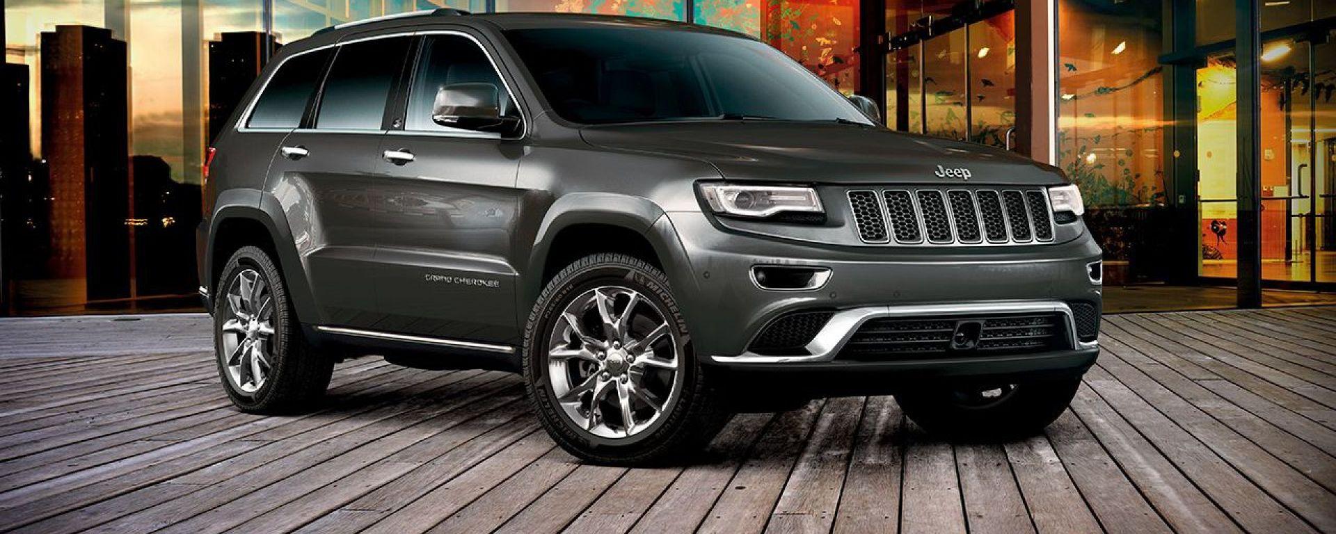 Jeep Grand Cherokee 2015: vista 3/4 anteriore