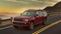 Jeep Grand Cherokee 2021: arriva il 7 posti