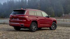 Jeep Grand Cherokee 2021: il design dei nuovi fanali a LED