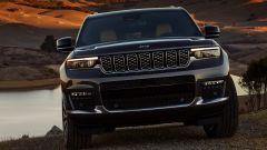 Jeep Grand Cherokee 2021: il frontale