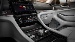 Jeep Grand Cherokee 2021, interni: la console centrale