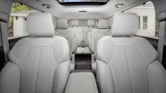 Jeep Grand Cherokee 2021, interni: le 3 file di sedili