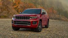 Jeep Grand Cherokee 2021: la griglia anteriore a 7 slot