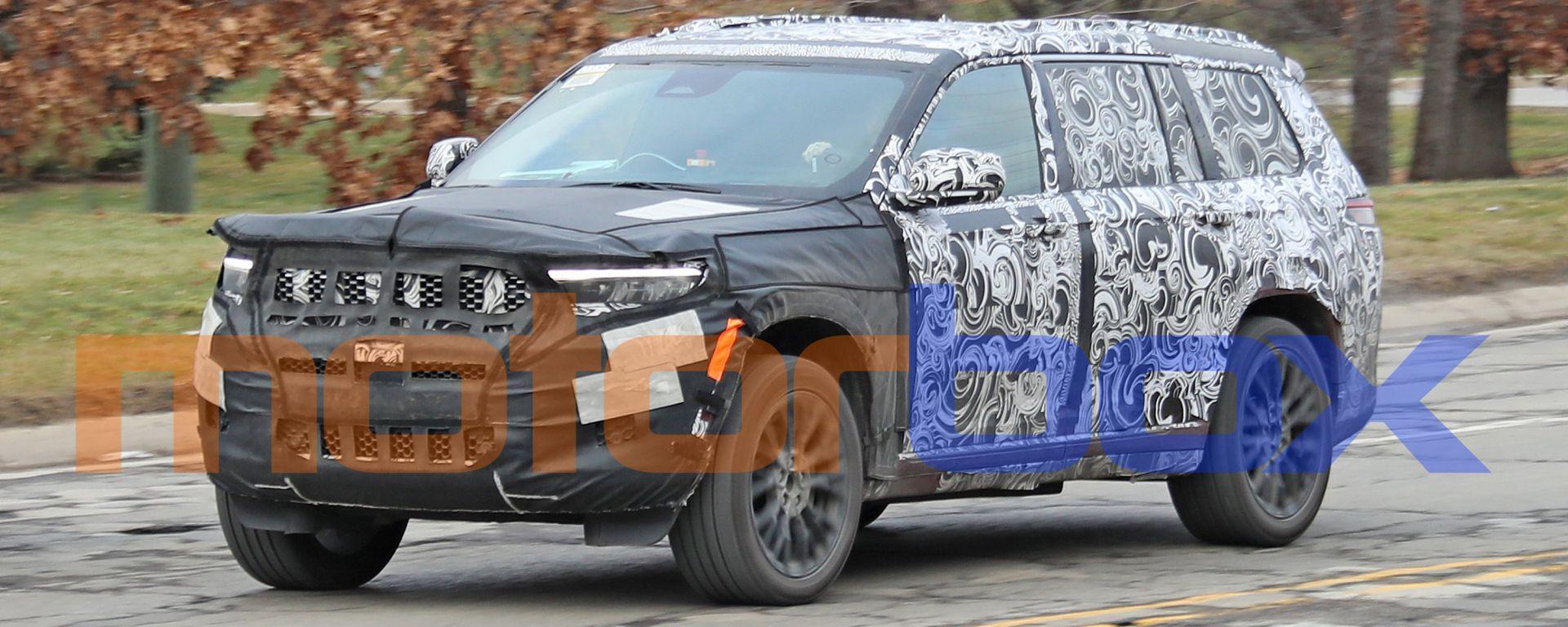 Jeep Grand Cherokee 2021: le nuove foto spia