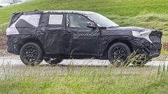 Jeep Grand Cherokee 2021, prime foto spia