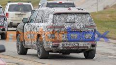 Jeep Grand Cherokee 2021: visuale di 3/4 posteriore