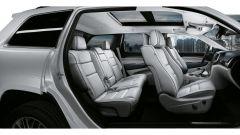 Jeep Grand Cherokee: gli interni della versione Summit