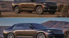 Jeep Grand Cherokee L 2021: il render che cambia il SUV in berlina