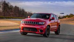 Jeep Grand Cherokee Trackhawk, debutto al Salone di New York