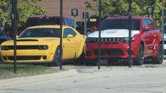 Jeep Grand Cherokee Trackhawk Demon: l'anteriore