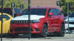 Jeep Grand Cherokee Trackhawk Demon: vista 3/4 anteriore