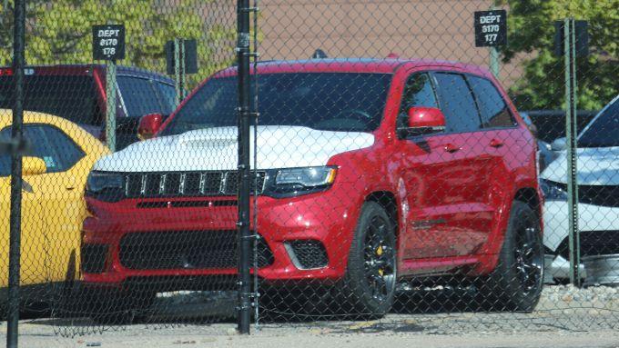 Jeep Grand Cherokee Trackhawk Demon