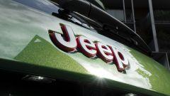 Jeep Grand Cherokee Trailhawk 2019: dettaglio del marchio