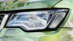 Jeep Grand Cherokee Trailhawk 2019: gruppo ottico anteriore