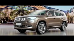 Jeep Grand Commander: vista 3/4 anteriore