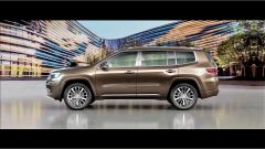Jeep Grand Commander: vista laterale