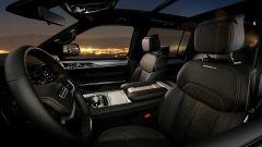 Jeep Grand Wagoneer 2021, interni: abitacolo anteriore