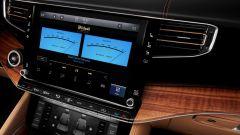 Jeep Grand Wagoneer 2021, interni: i display centrali