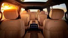 Jeep Grand Wagoneer 2021, interni: le 3 file di sedili